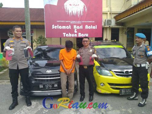 Pelaku yang Tikam Kepala Driver Mobil Online Pakai Obeng di Pekanbaru Ditembak dan Ditangkap di Sumbar