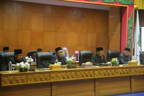 Dewan Sahkan Syamsuar-Alfedri Sebagai Bupati dan Wakil Bupati Siak Terpilih
