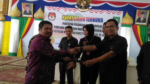 Pj Bupati Ucapkan Selamat dan Tahniah kepada Bupati dan Wakil Bupati Bengkalis Terpilih