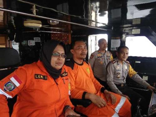 Polres Bengkalis Bantu Pencairan Korban Hilang pada Tenggelamnya Kapal DBS II
