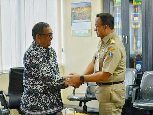 Rapat Perdana APPSI, Anies Baswedan Bahas DBH Sawit dan Wagubri Edy Nasution Sindir Kantor Pusat Perusahaan di Luar Riau