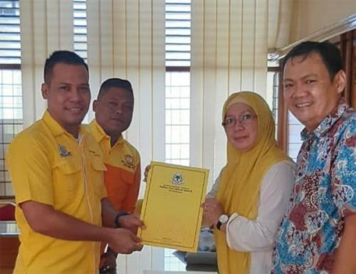 Tim Pemenangan Syamsuar Sudah Ambil Formulir Sebagai Calon Ketua Golkar Riau