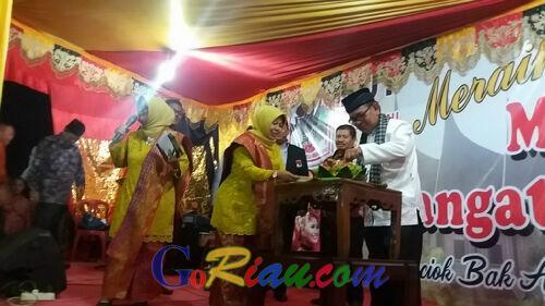 Sempat Dihadiri Gubri, Perayaan HUT ke-17 IKMR Mandau Berlangsung Meriah, Sejumlah Bupati Menyumbang Hingga Puluhan Juta Rupiah