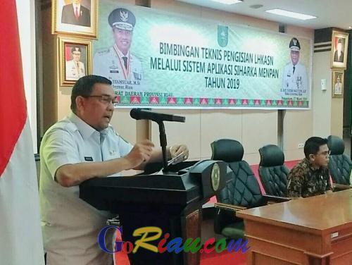 LHKASN di Riau Wujudkan Kejujuran dan Transparansi Penyampaian Harta Kekayaan