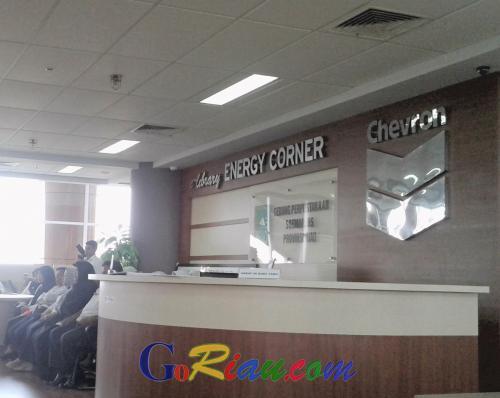 E-Library Energy Corner Chevron Sah Jadi Milik Puswil Soeman HS