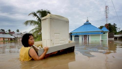 Jalur Lalu Lintas Bengkulu ke Sumsel dan Lampung Putus Akibat Banjir