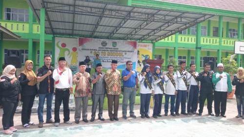 Generasi Muda Sehat dan Kreatif Tanpa Narkoba, Granat Kepulauan Meranti Go To School SMAN1 Tebing Tinggi