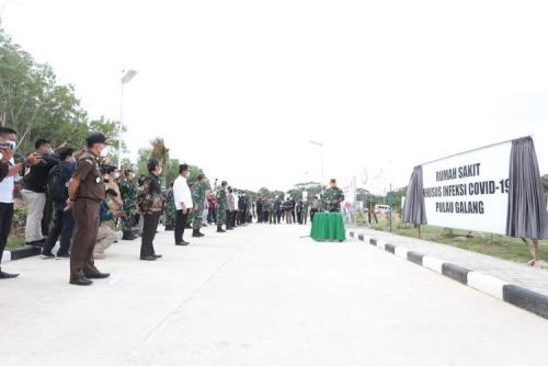 RS Covid-19 Galang Tolak Pasien Corona dari Batam, Kadiskes Kepri Kecewa