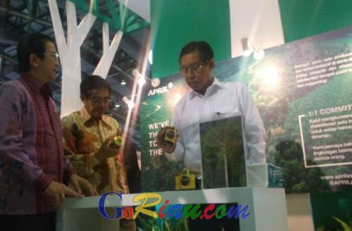Madu Foresbi Binaan APRIL Group Ikut Dipajang di Indogreen Expo 2016