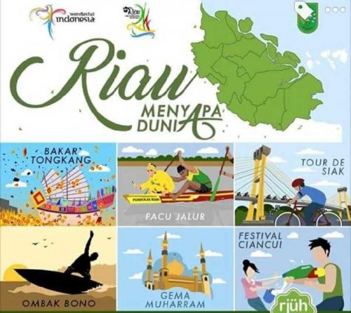 Nanti Malam Riau Menyapa Dunia