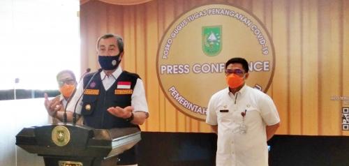 Bersiap New Normal, Indeks Penularan Covid-19 Riau di Bawah 1
