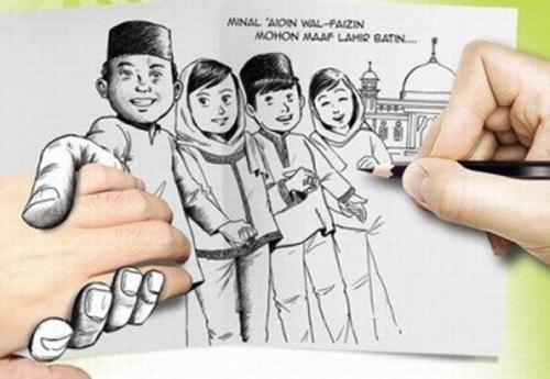 Jangan Lagi Ucapkan Minal Aidin Wal Faizin, Ini Dia Ucapan Selamat Idul Fitri yang Benar!