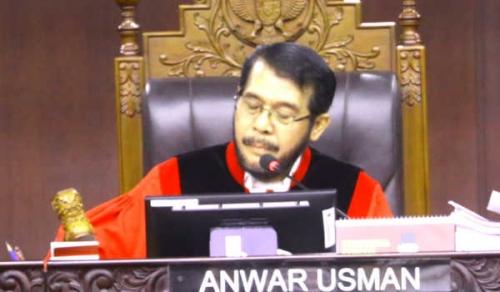 Ketua MK: Kami Pertanggungjawabkan kepada Allah Sesuai Surat An Nisa 58 dan 135 Serta Al Maidah 8