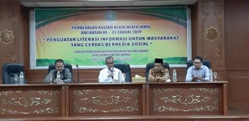 Beri Kuliah Umum di UIN Suska Riau, Mursini Paparkan Arah Pembangunan Kuansing 2017-2021