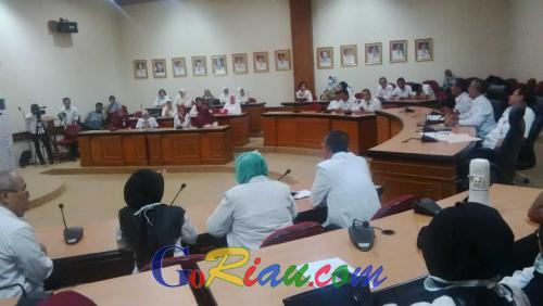 Unjuk Rasa Tim Medis Dinilai Tabrak Aturan Pegawai, Kepala BKP2D Riau Marah