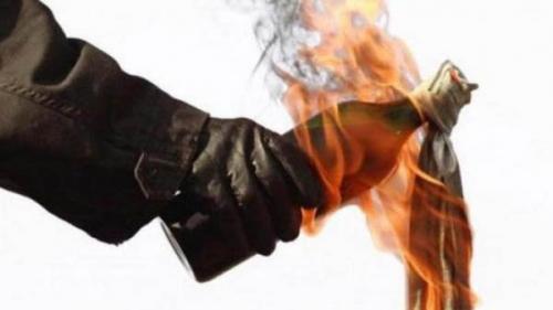 Kantor Satpol PP Pekanbaru Dibom Molotov