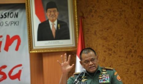 Panglima TNI Menghadap Jokowi di Istana, Tak Bahas Pembelian 5.000 Senjata Ilegal