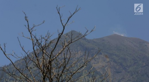 Aktivitas Vulkanik Gunung Agung Masih Tinggi, Jumlah Pengungsi Capai 96.086 jiwa