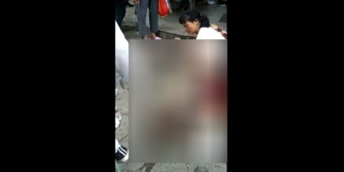 Wanita Hamil Mendadak Pelorotkan Celana di Tengah Pasar Tradisional, Ternyata . . . .
