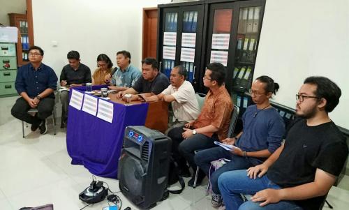 AJI Serukan Hentikan Teror dan Kriminalisasi Jurnalis