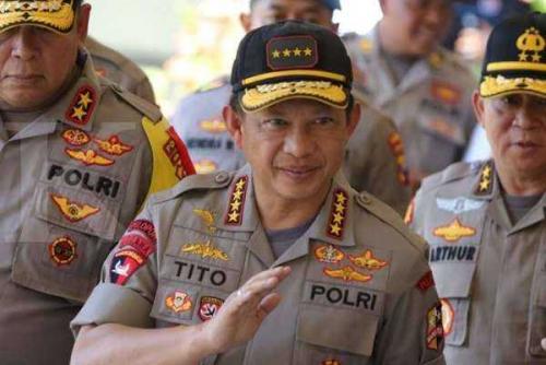 Kapolri Copot Kapolda Riau, Sultra dan Papua