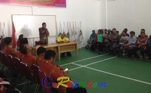 Datang ke Pekanbaru, Pengprov NPC Jambi Curi Ilmu dari Riau
