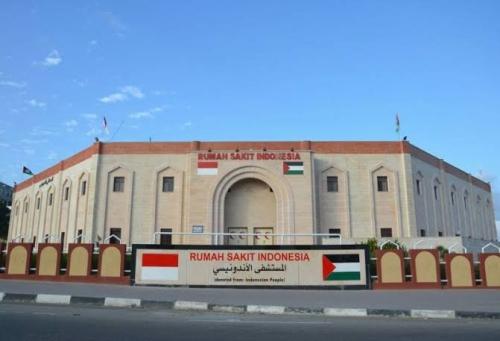 Rumah Sakit Indonesia di Gaza Dihancurkan Pasukan Israel, Beberapa Orang Terluka