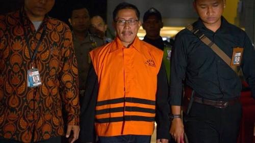 Uang Beli Jabatan, Bupati Cirebon Terima Satu Karung Recehan Rp5.000-Rp20.000
