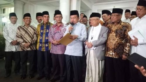 Kumpul di Rumah JK Bahas Pembakaran Bendera Tauhid, Ini 5 Pernyataan Sikap Pimpinan Ormas Islam
