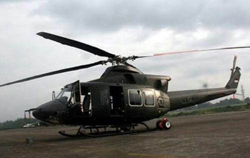 Heli Bell-412 EP Milik TNI AD yang Hilang 24 November Ditemukan