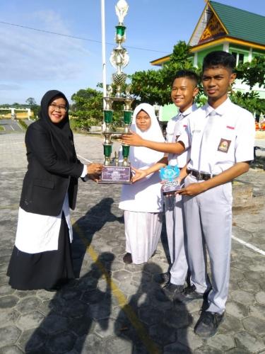Siswa MAN Siak Borong Juara pada Olimpiade Sains Indonesia 2018 Tingkat Sumbar - Riau - Kepri