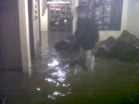 Ketinggian Air Akibat Banjir di Rohul Malam Ini Sampai Satu Meter
