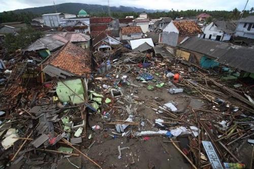 1,5 Jam Sebelum Tsunami, Warga Pandeglang Lihat Buaya Tegak di Pantai