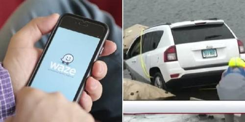 Mobil Tercebur ke Danau Gara-gara Pengemudi Terlalu Percaya GPS