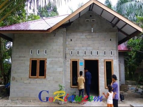 Bantuan Stimulan Perumahan Swadaya dari Kementerian PUPR Jadi Primadona di Kabupaten Siak