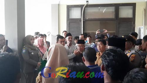 Masyarakat Kenegerian Siberakun Tuntut Hak Ulayat 787 Hektare yang Dikuasai PT DPN