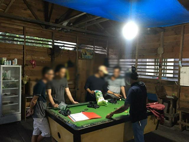 Kedapatan Main Judi Biliar, Tiga Terduga Pelaku Diringkus Polres Kepulauan Meranti