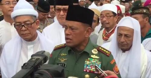 Dekat dengan Umat Islam dan 3 Alasan Lainnya Jadikan Elektabilitas Jenderal Gatot Menguat Sebagai Cawapres