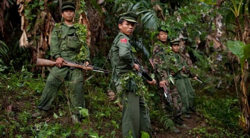 Pertempuran Pecah di Utara Myanmar, Lebih 4.000 Orang Melarikan Diri