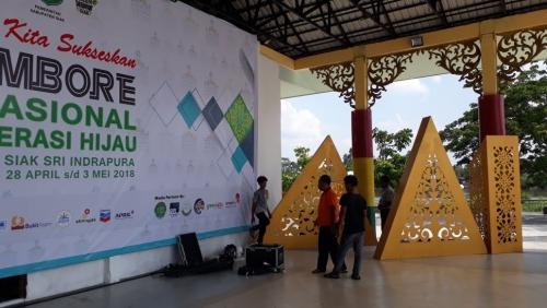 Pembukaan Jambore Generasi Hijau di Siak akan Dihadiri 3 Kementerian
