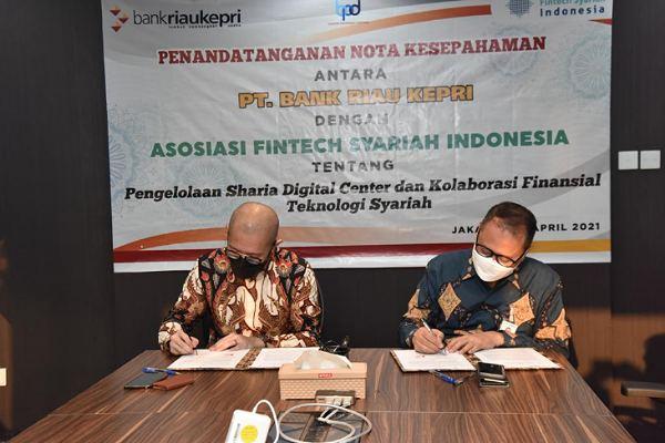 Bank Riau Kepri dan AFSI Berkolaborasi Terkait Financial Teknologi Syariah