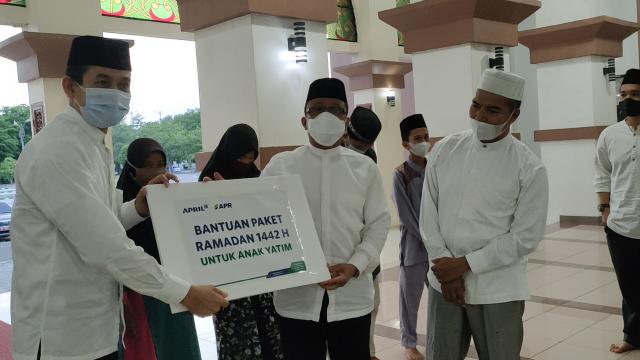 Buka Bersama Pemkab Siak, PT RAPP Juga Salurkan Bantuan untuk 600 Anak Yatim