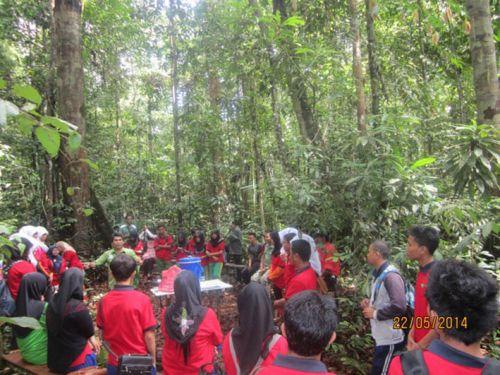 RAPP Ajak Siswa Lihat Langsung Pengelolaan Hutan