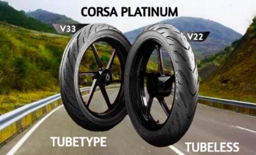 80 Persen Lebih Awet, Ini Sejumlah Keunggulan Ban Corsa Platinum V22 dan V33 yang Cocok Buat Dipakai Harian