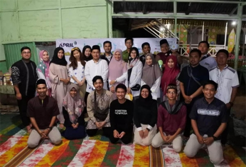 Tanoto Scholars Alumni Buka Puasa Bersama Anak Yatim