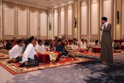 Manajemen PT Bumi Siak Pusako Halalbihalal dengan Pemkab Siak