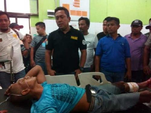 Lari ke Riau, Pelaku Pembakar Ibu Tiri Ditembak Lalu Ditangkap