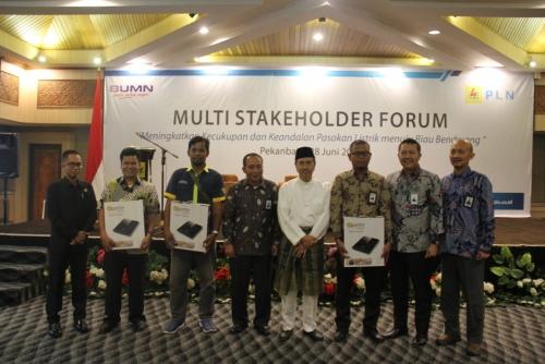 Tingkatkan Sinergisitas Menuju Riau Benderang, PLN Gelar Multi Stakeholder Forum