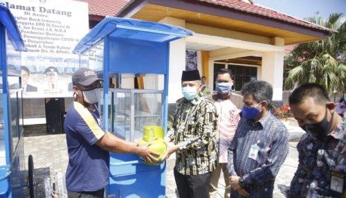 Terdampak Covid-19, Masyarakat Sungai Mandau Terima Bantuan dari Bank Indonesia