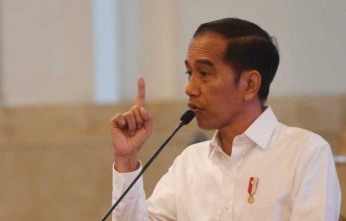 Suara Jokowi Meninggi dalam Rapat Kabinet, Sampai Sebut Reshuffle, Ini Pidato Lengkapnya